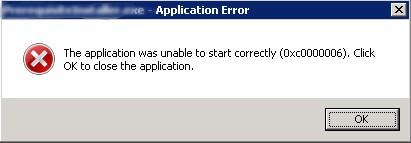 unrecoverable error